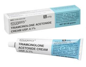 triamcinolone acetonide ointment contact dermatitis